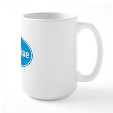 irescue oval blue Mug