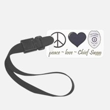 peace-love-swan-dk Luggage Tag