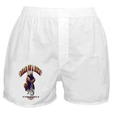 Bear_bike_big Boxer Shorts