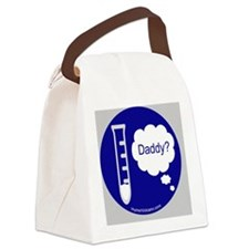 ttdaddy button revised Canvas Lunch Bag