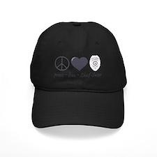 peace-love-swan Baseball Hat