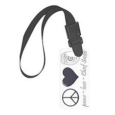 peace-love-swan-sw Luggage Tag