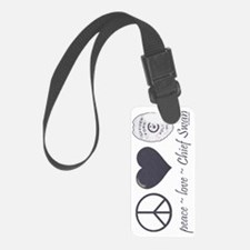 peace-love-swan-sw Luggage Tag