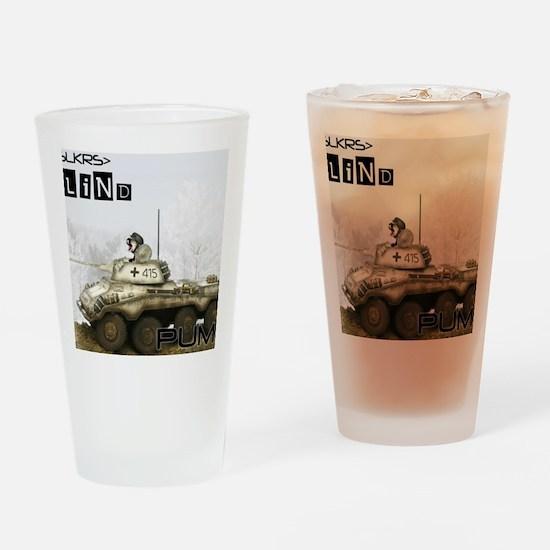 BLIND PUMA tank Drinking Glass