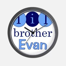 littlebrother_EVAN_2 Wall Clock