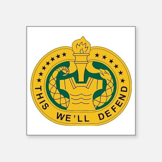 "big Drill_Sergeant.gif Square Sticker 3"" x 3"""