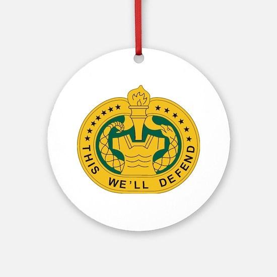 big Drill_Sergeant.gif Round Ornament