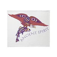 207t AncntSpirit Eagle Throw Blanket