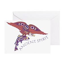 207t AncntSpirit Eagle Greeting Card