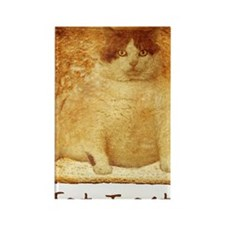 2-FatToastFront Rectangle Magnet