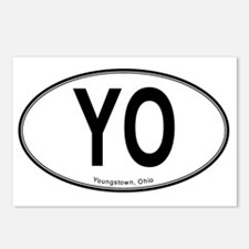 Youngstown YO Oval Postcards (Package of 8)