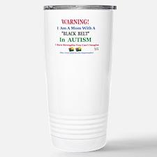 black belt cap mom Travel Mug