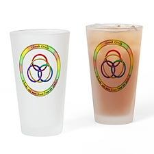 3-cclogotshirt_10x10_apparel Drinking Glass