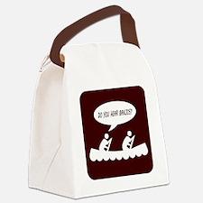 Do you hear banjos t-shirt image Canvas Lunch Bag