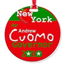 Cuomo 2010 Ornament