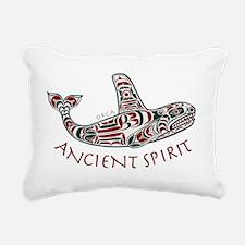 211t AncntSpirit Orca  Rectangular Canvas Pillow