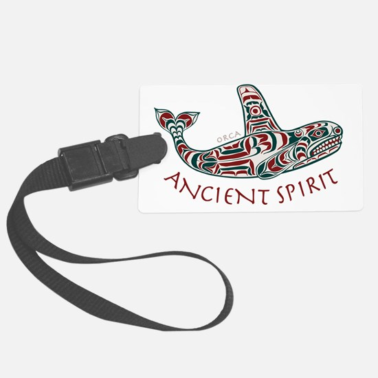 211t AncntSpirit Orca  Luggage Tag