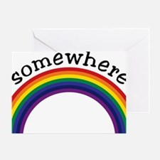 Somewhere over the rainbow 2 Greeting Card