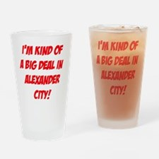 AlexanderCityAlabama4 Drinking Glass