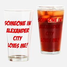AlexanderCityAlabama2 Drinking Glass