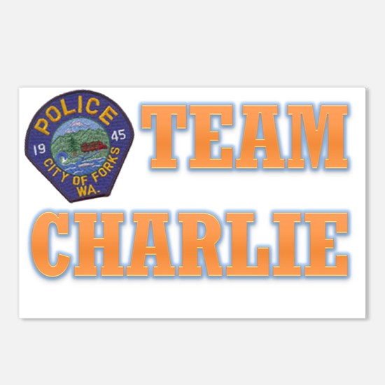 charlie Postcards (Package of 8)