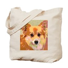 Reflection Gentle and Sweet Dog Face Tote Bag