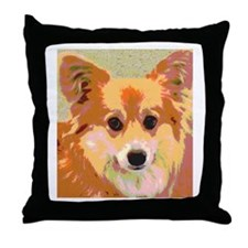 Reflection Gentle and Sweet Dog Face Throw Pillow