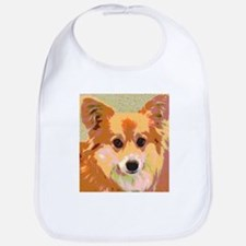 Reflection Gentle and Sweet Dog Face Bib