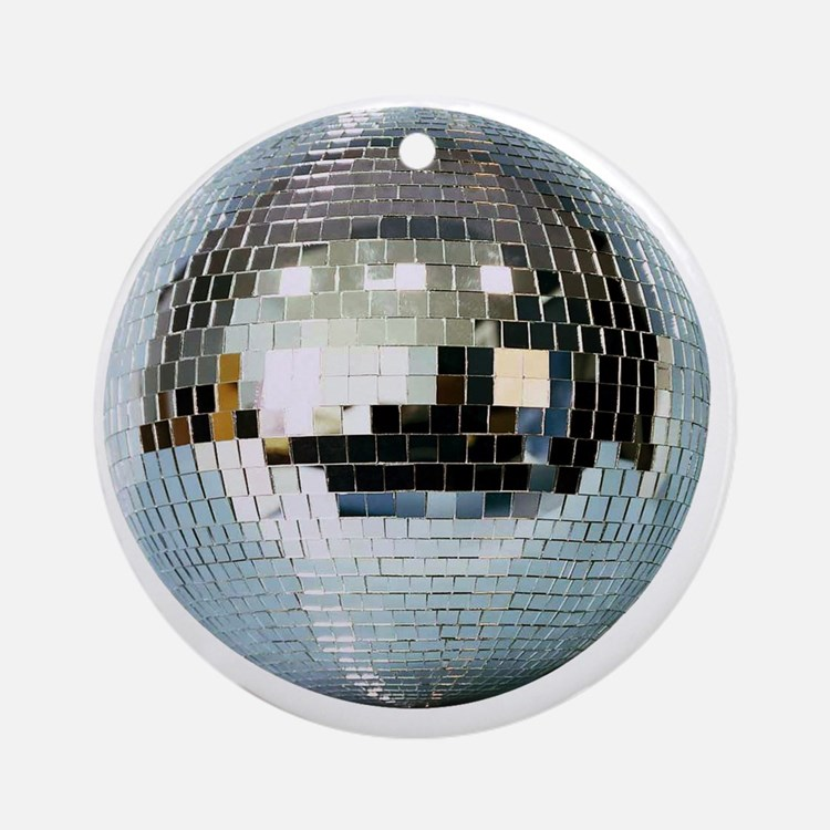 DISCO BALL2 Round Ornament