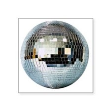 "DISCO BALL2 Square Sticker 3"" x 3"""