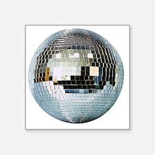 """DISCO BALL2 Square Sticker 3"""" x 3"""""""
