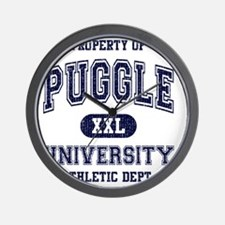 Puggle-University Wall Clock