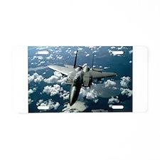 F-15 E Strike Eagle Aluminum License Plate