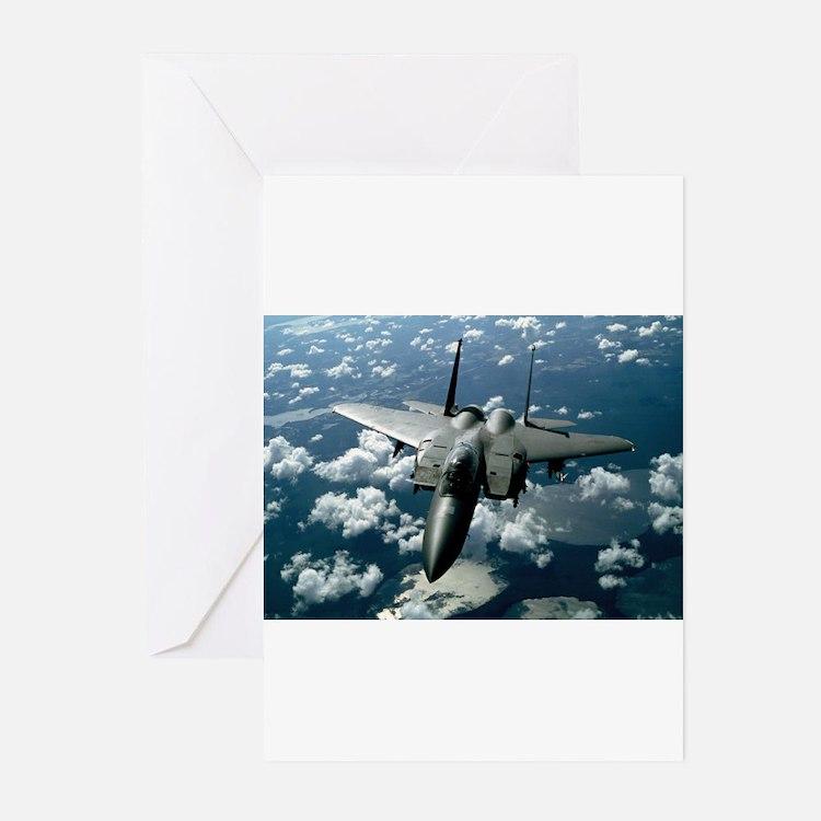 F-15 E Strike Eagle Greeting Cards (Pk of 20)