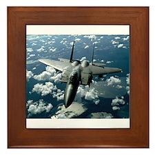 F-15 E Strike Eagle Framed Tile