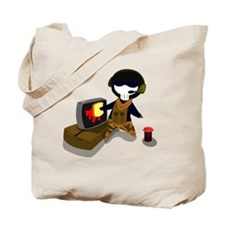 MW2 Ghost Tote Bag
