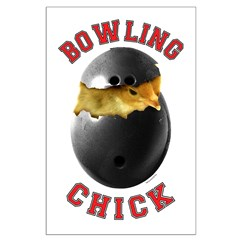 Bowling Chick 2 Posters
