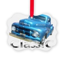 classic blue Ornament