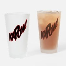 KAPOW Drinking Glass