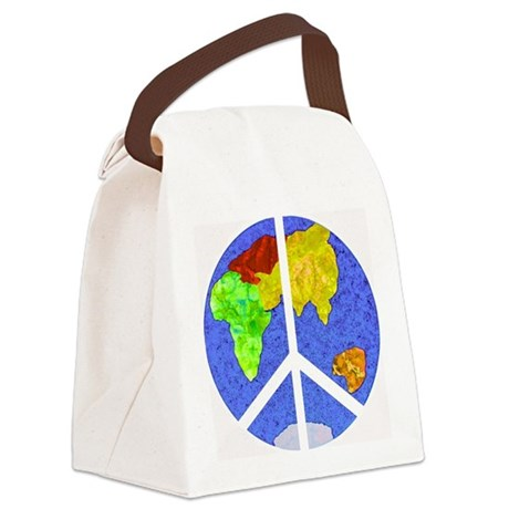 peaceworldornament Canvas Lunch Bag