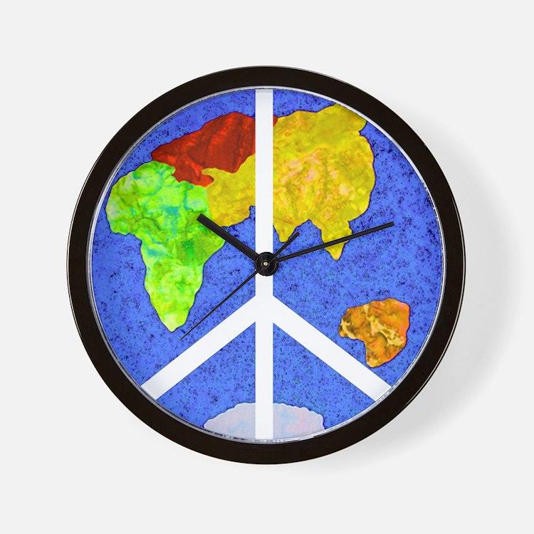 peaceworldornament Wall Clock