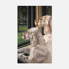 English Setter Puppies Decal
