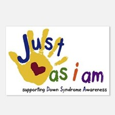 just as I am down Postcards (Package of 8)