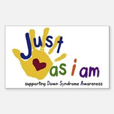 just as I am down Decal