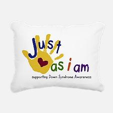 just as I am down Rectangular Canvas Pillow