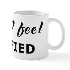 Today I feel pacified Mug