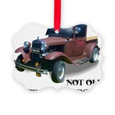 New Not Old Ornament