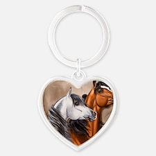 Alert_Arabians Heart Keychain
