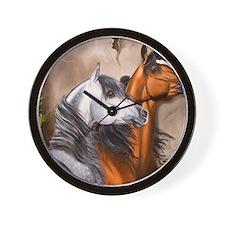 Alert_Arabians Wall Clock