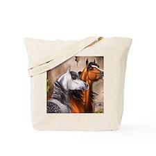 Alert_Arabians Tote Bag